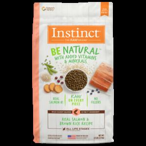 Instinct Be Natural Salmón - Para Perros