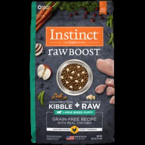 Instinct Raw Boost Cachorros Razas Grandes